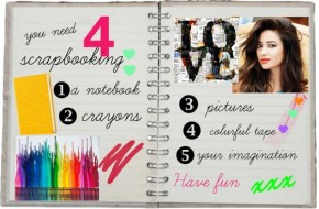 you need for scrapbooking