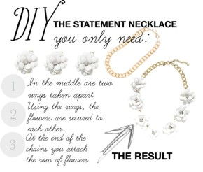 DIY: the statement necklace