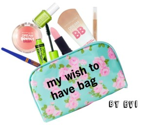 My wish to have bag