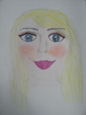 Drawing make-up tutorial: Blauwe ogen en lichtehuid