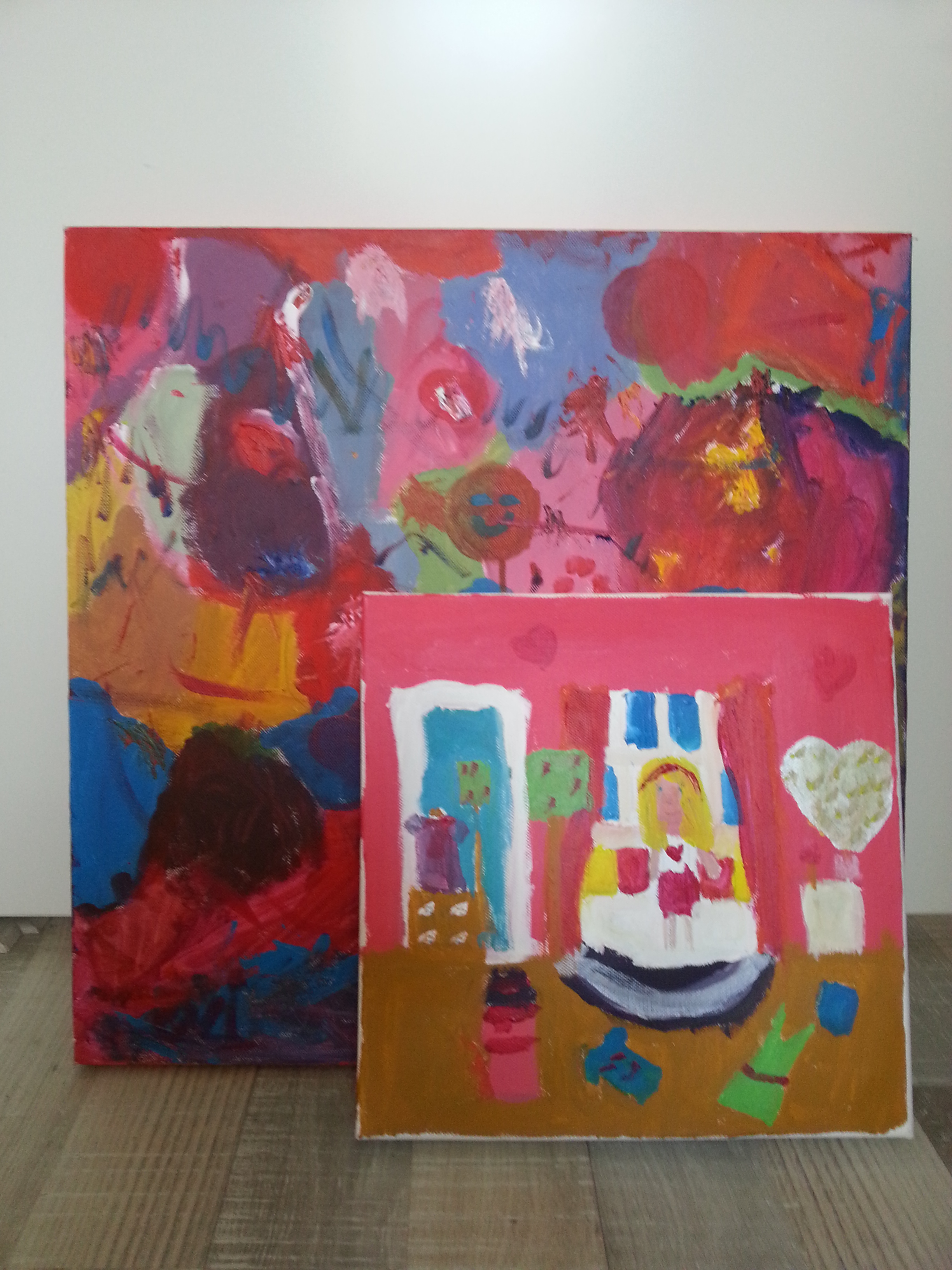Vintage holland pagina 5 - Kleur schilderij gang ...